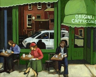 original_cappuccino___urban_city_scene_figurative__figurative__30b7ef7b59a9e7d12c441b34c59d641a